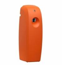 фото: Диспенсер для освежителя воздуха Merida Unique Orange Line Matt матовый оранжевый, 270мл, с ЖК-диспл
