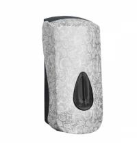 фото: Диспенсер для мыла в картриджах Merida Unique Palace Line Matt DUH203, матовый с рисунком, 700мл
