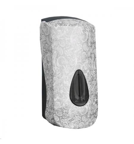 фото: Диспенсер для мыла в картриджах Merida Unique Palace Line Spark DUH253, глянцевый с рисунком, 700мл