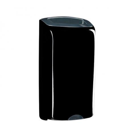 фото: Контейнер для мусора подвесной Merida Unique Piano Black Line KUC151, открытая крышка, 40л, глянцевы