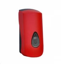Диспенсер для мыла в картриджах Merida Unique Red Line Spark DUR251, глянцевый красный, 700мл