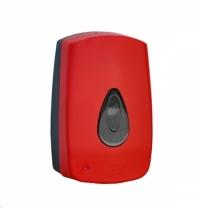 Диспенсер для мыла в картриджах Merida Unique Red Line Spark DUR551, сенсорный, глянцевый красный, 7
