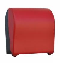 Диспенсер для полотенец в рулонах Merida Unique Solid Cut Red Line Matt Maxi CUR302, матовый красный