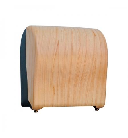фото: Диспенсер для полотенец в рулонах Merida Unique Solid Cut Scandinavian Line Matt Maxi CUH326, матовы