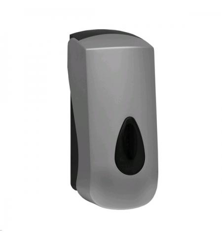 фото: Диспенсер для мыла в картриджах Merida Unique Silver Line DUS251, глянцевый металлик, 700мл