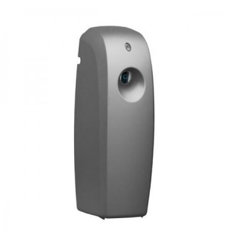 фото: Диспенсер для освежителя воздуха Merida Unique Silver Line глянцевый металлик, 270мл, с ЖК-дисплеем,