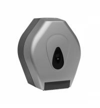 Диспенсер для туалетной бумаги в рулонах Merida Unique Silver Line BUS201, матовый металлик