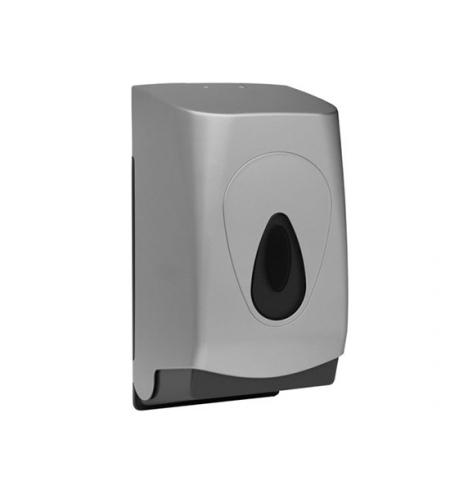 фото: Диспенсер для туалетной бумаги листовой Merida Unique Silver Line матовый металлик, BUS401