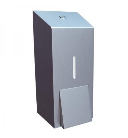 фото: Диспенсер для мыла наливной Merida Stella Maxi DSM101, матовый металлик, 800мл