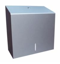 фото: Диспенсер для полотенец листовых Merida Stella Economy Maxi AEM101, матовый металлик