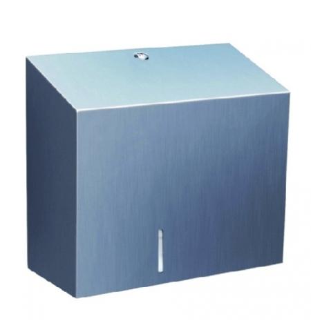фото: Диспенсер для туалетной бумаги в рулонах Merida Stella Duo BSM202, матовый металлик