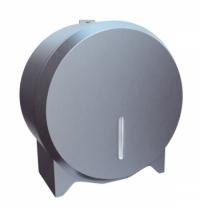 фото: Диспенсер для туалетной бумаги в рулонах Merida Stella Economy Mini BEM201.L, матовый металлик