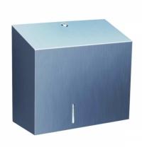 фото: Диспенсер для туалетной бумаги в рулонах Merida Stella Maxi BSM101, матовый металлик