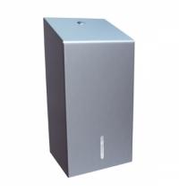 фото: Диспенсер для туалетной бумаги листовой Merida Stella BSM401, матовый металлик