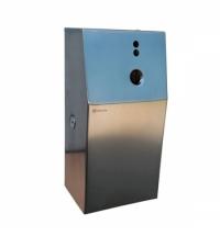 фото: Контейнер для диспенсера Merida Stella GSM018, для освежителя воздуха, матовый металлик