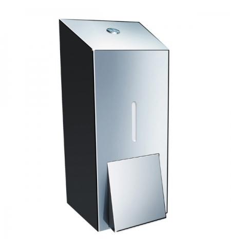 фото: Диспенсер для мыла наливной Merida Stella Maxi DSP101, полированный металлик, 800мл