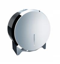 фото: Диспенсер для туалетной бумаги в рулонах Merida Stella Mini BSP201, полированный металлик