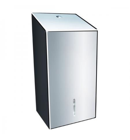 фото: Диспенсер для туалетной бумаги листовой Merida Stella BSP401, полированный металлик