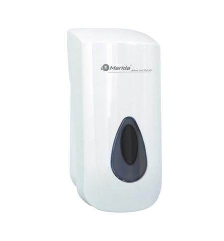 фото: Диспенсер для мыла в картриджах Merida Top III DTS301, белый/серый, 880мл