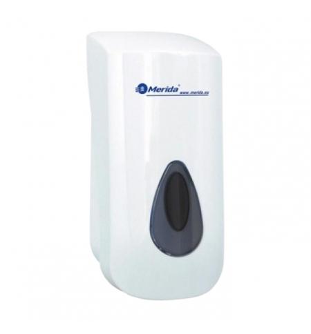 фото: Диспенсер для мыла наливной Merida Top Mini DTS102, белый/серый, 400мл
