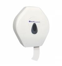 Диспенсер для туалетной бумаги в рулонах Merida Top Maxi BTS101, белый/серый