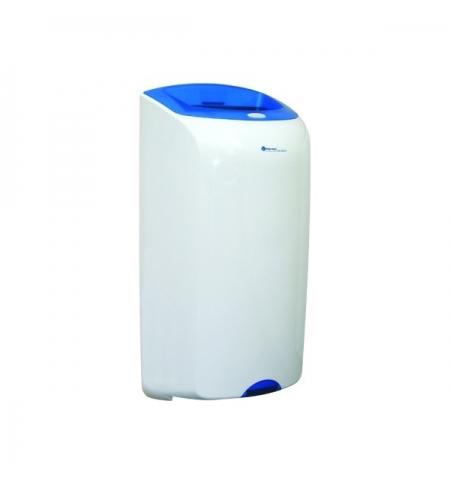фото: Контейнер для мусора подвесной Merida Top 40л, сине-белая, со съемной крышкой, KTN101