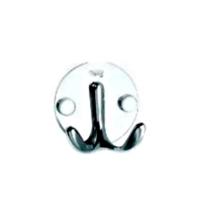 Крючок Merida Мамонт двойной, металлик, полированный, HSP029