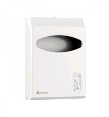 фото: Диспенсер для покрытий на унитаз Merida GJB001, пластиковый