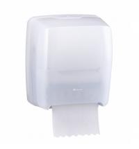 Диспенсер для полотенец в рулонах Merida Harmony CHB301, белый