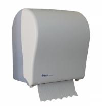 фото: Диспенсер для полотенец в рулонах Merida Solid Cut Maxi CJB302, белый