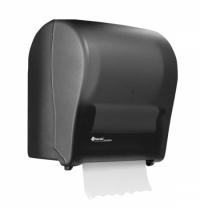 фото: Диспенсер для полотенец в рулонах Merida Solid Cut Maxi CJC302, черный