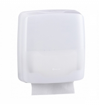 Диспенсер для полотенец листовых Merida Harmony AHB101, белый, V-укладка
