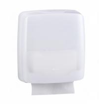 Диспенсер для полотенец листовых Merida Harmony AHB102, белый, Z-укладка