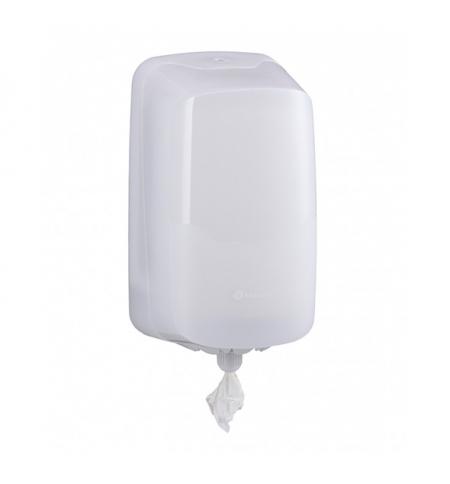 фото: Диспенсер для полотенец с центральной вытяжкой Merida Harmony Mini, BHB701 , белый