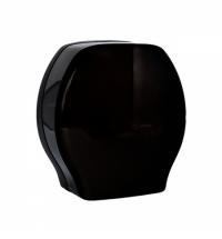 Диспенсер для туалетной бумаги в рулонах Merida Harmony Black Maxi черный, BHC101