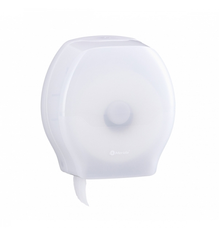 фото: Диспенсер для туалетной бумаги в рулонах Merida Harmony Maxi, BHB101, белый