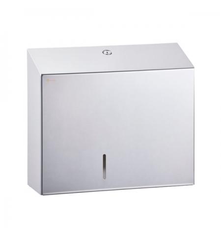 фото: Диспенсер для туалетной бумаги в рулонах Merida Stella Maxi BSP101, металлический