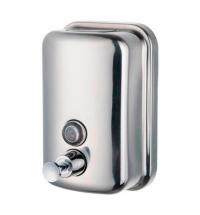 фото: Диспенсер для мыла наливной Merida Популярный Maxi DQP502, полированный, 1л