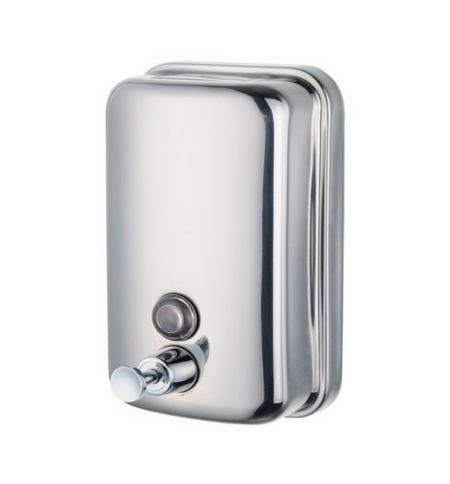фото: Диспенсер для мыла наливной Merida Популярный Mini DQP501, полированный, 500мл