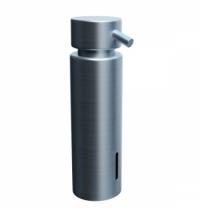 фото: Дозатор для мыла Merida Vip D44S, настольный, матовый металлик, 300мл