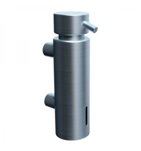 фото: Дозатор для мыла Merida Vip D45S, с настенным креплением, матовый металлик, 300мл