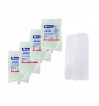 Дозатор для мыльной пены Merida Harmony 4 картриджа, KH DHB201 LFM201