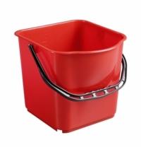 Ведро Merida 18л, красное, ZS010