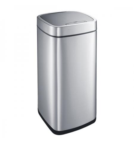 фото: Контейнер для мусора Merida 35л, сенсорный, с крышкой, матовый металлик, KIM504