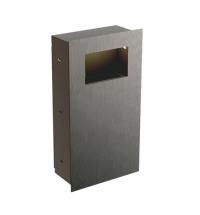 Контейнер для мусора Merida Dragon Vandalproof 30л, матовый, монтируемый на стену, KWM160