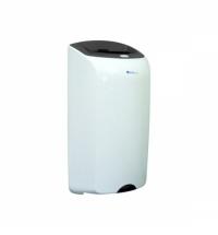 Контейнер для мусора подвесной Merida Top 40л, серо-белая, со съемной крышкой, KTS101