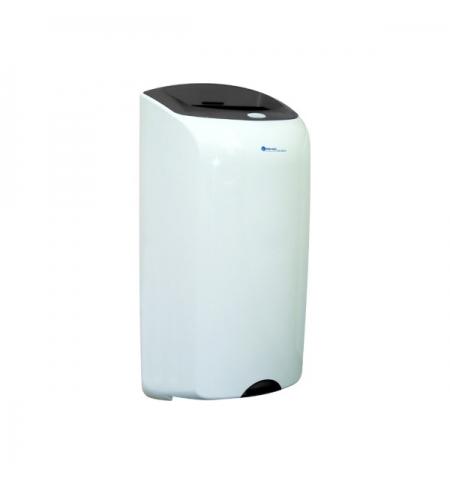 фото: Контейнер для мусора подвесной Merida Top 40л, серо-белая, со съемной крышкой, KTS101