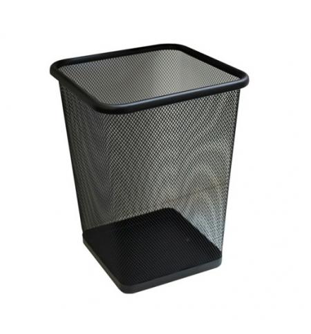 фото: Корзина для мусора Merida 10л, черная, сетчатая, KIC102