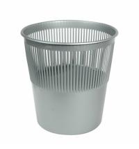 Корзина для мусора Merida 12л, серая, КЕС 01