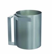 Корзина для мусора Merida 30л, монтируемая под столешницу, матовый металлик, KWM101